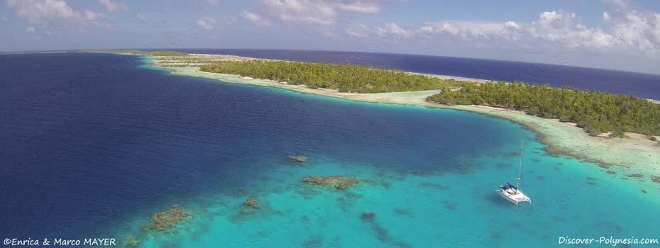 Crociere in Polinesia in catamarano